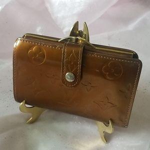 💯Authentic Louis Vuitton Vernis Porte wallet